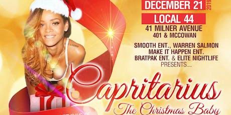 CAPRITARIUS:: The Christmas Baby Birthday & Holiday Celebration tickets