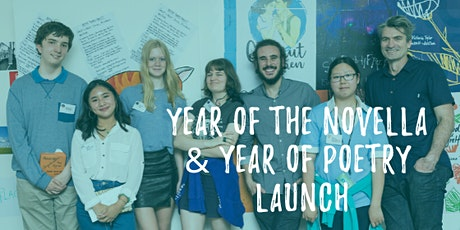 Year of Poetry & Year of the Novella Launch tickets