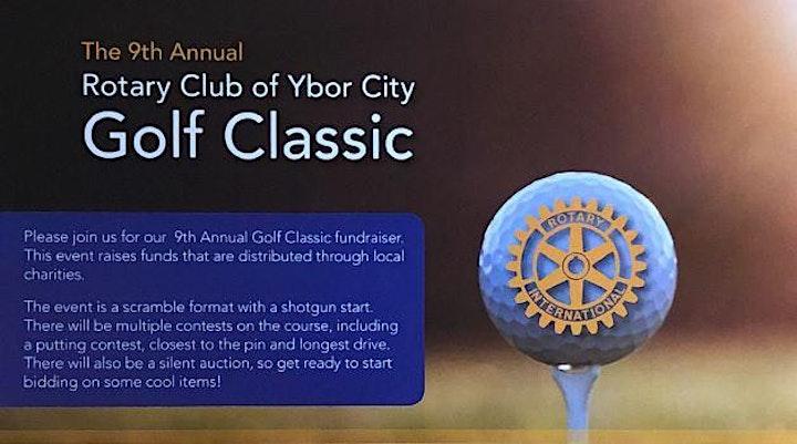 9th Annual Rotary Club of Ybor City GOLF CLASSIC image