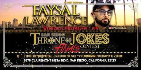 Throne of Jokes Contest - Finals tickets