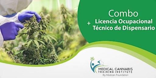Combo 1: Licencia Ocupacional+Técnico de Dispensario