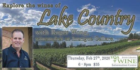 Explore the Wines of Lake Country tickets