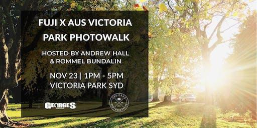 Fuji X Aus & Georges Presents: Victoria Park Photowalk