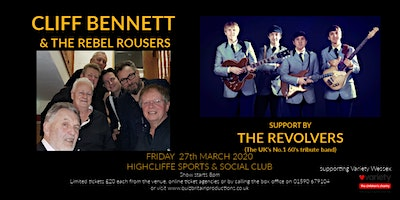 Cliff Bennett & the Rebel Rousers (support by the