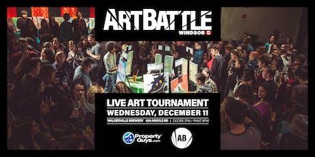 Art Battle Windsor - December 11, 2019 tickets