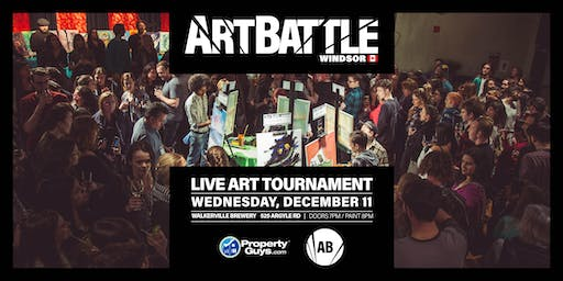 Art Battle Windsor - December 11, 2019