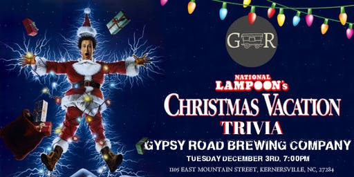 National Lampoon's Christmas Vacation Trivia at Gypsy Road Brewing Company
