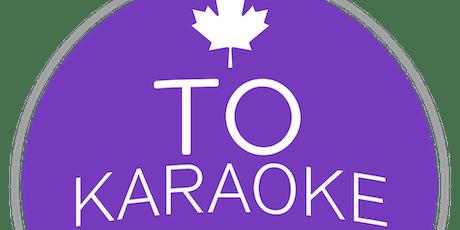 T.O. Karaoke League Registration - Spring 2020 tickets