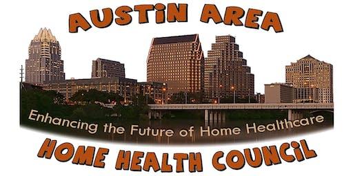 Austin Area Home Health Council Meeting - December 18th, 2019