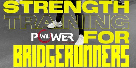 RSVP 2 SESSIONS: 6:30PM & 7:30PM STRENGTH TRAINING FOR RUNNERS tickets