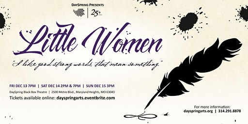 Little Women -- Friday December 13th, 7pm