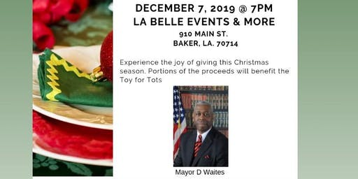 Dinner With The Mayor 1st Annual Food & Toy Drive