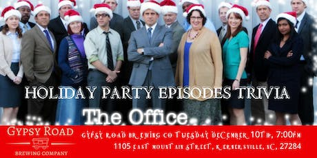 """The Office Trivia """"The Holiday Party Episodes"""" at Gypsy Road Brewing Co tickets"""