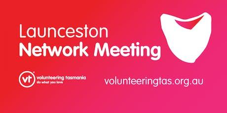 Volunteering Tasmania Network Meeting - North tickets