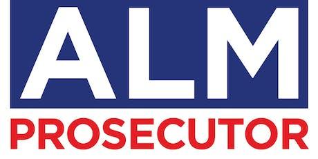 Announcement:  Steve Alm for Prosecutor tickets