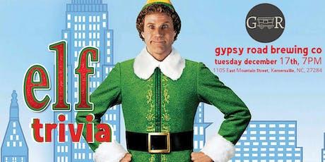 Elf Trivia at Gypsy Road Brewing Company tickets