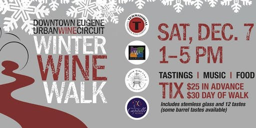 Eugene Urban Wine Circuit Winter Wine Walk 2019