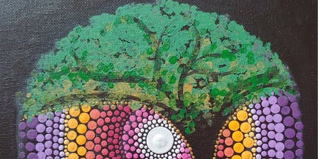 Tree of Life Dot Painting Party at Brush & Cork tickets