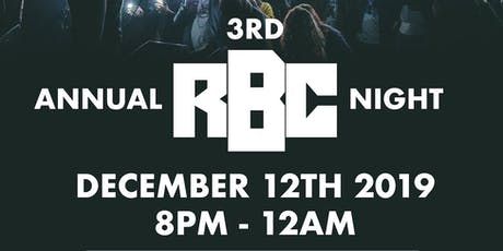 3rd Annual RBC Night tickets