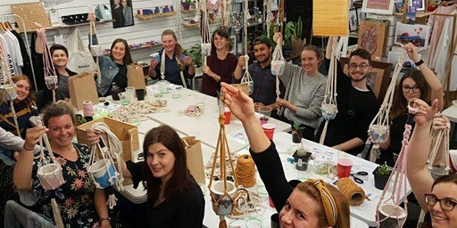 Pot it Like its Hot! - Macrame and Plant Pot Workshop