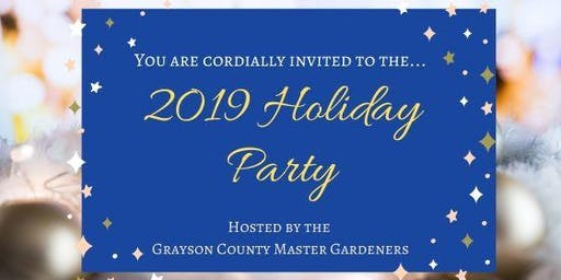 GCMG Holiday Party 2019