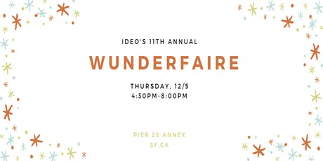 IDEO Wunderfaire 2019 tickets