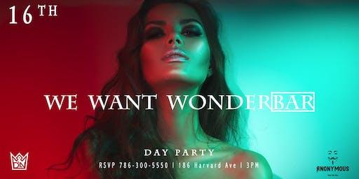 We Want Wonderbar DP