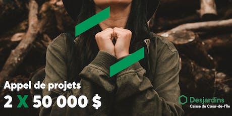 Lancement : Appel de projets billets