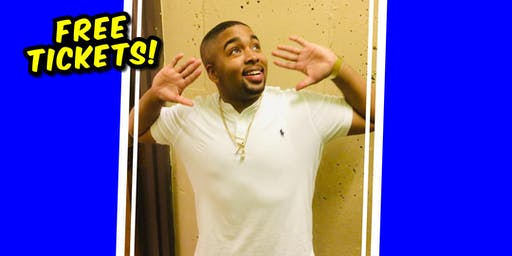 Free tickets to see comedian KeJuan Moses!