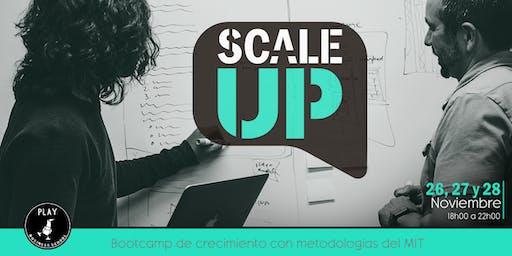 SCALE UP: Bootcamp de crecimiento con metodologías del MIT