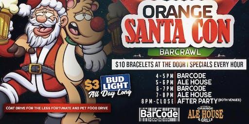 Orange Connecticut SantaCon Bar Crawl