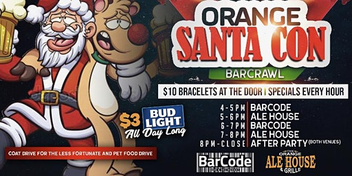 Orange Connecticut SantaCon Bar Crawl