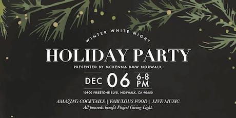 Winter White Night Holiday Party Presented by McKenna BMW Norwalk tickets