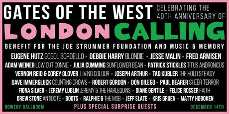 Gates of the West: Celebrating the 40th Anniversary of London Calling tickets