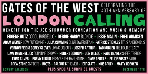 Gates of the West: Celebrating the 40th Anniversary of London Calling