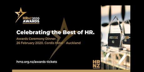 NZ HR Awards Ceremony Dinner tickets