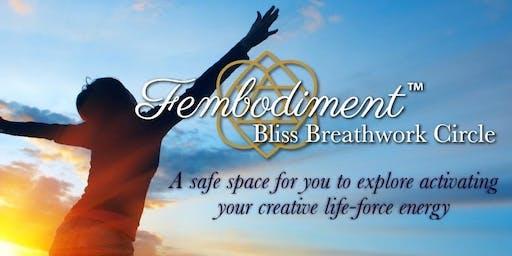 Fembodimenttm Bliss Breathwork Circle with Samantha-Jayne