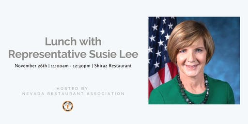 Lunch with US Rep. Susie Lee