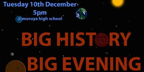 Big History Big Evening tickets