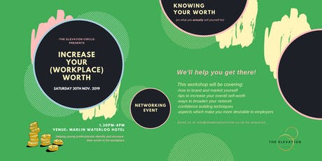 Careers: Increase Your Workplace Worth tickets