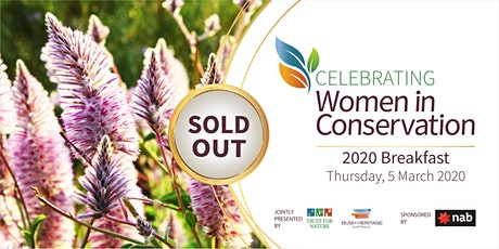 Women in Conservation Breakfast 2020 tickets