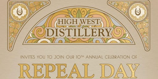 Repeal Day at High West Saloon