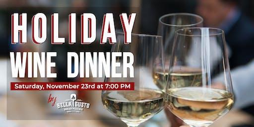 Holiday Dinner + Wine Pairing