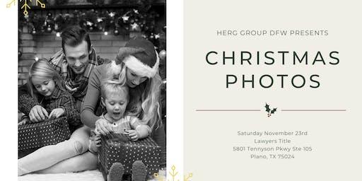 Christmas Photos With HERG Group DFW