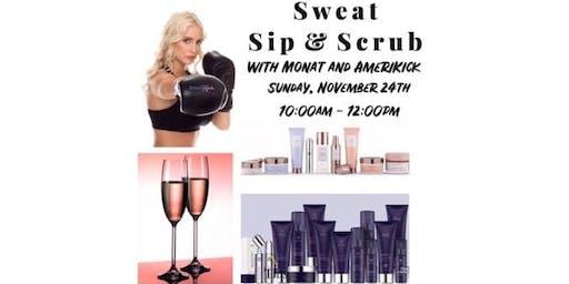 Sweat, Sip & Scrub with Monat and AmeriKick