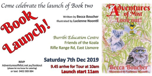 Look out! Book Launch