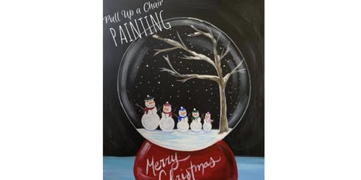 SNOWMAN FAMILY paint class (21+only)