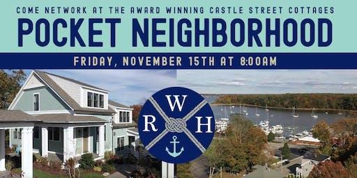 Breakfast Networking at Castle Street Cottages - a Pocket Neighborhood