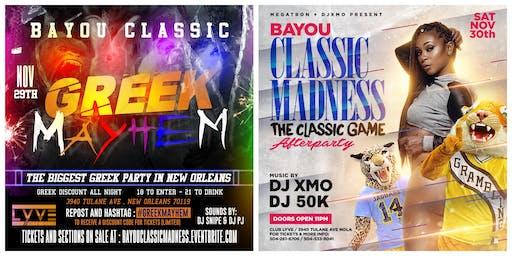 Greek Mayhem | Bayou Classic Madness