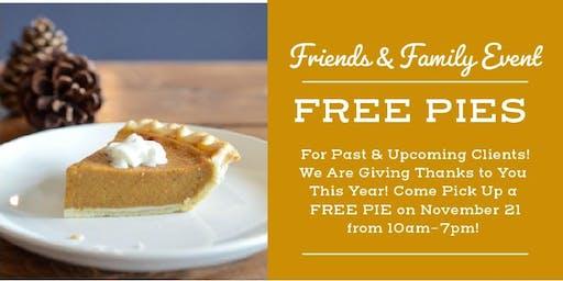 Mark Purser FREE Pie Event